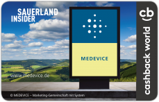 Cashback_Card_Sauerland_Web - medevice frei